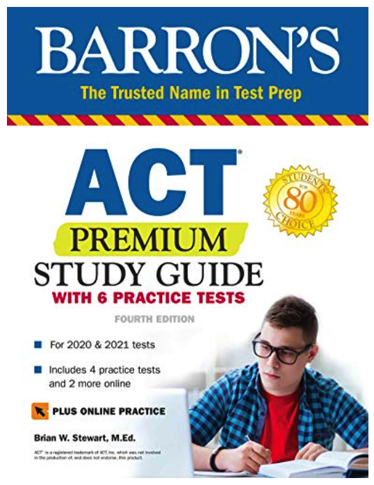 Barron's ACT Book
